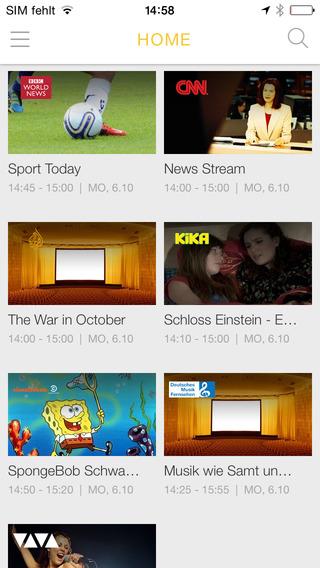 Kabel Deutschland TV App