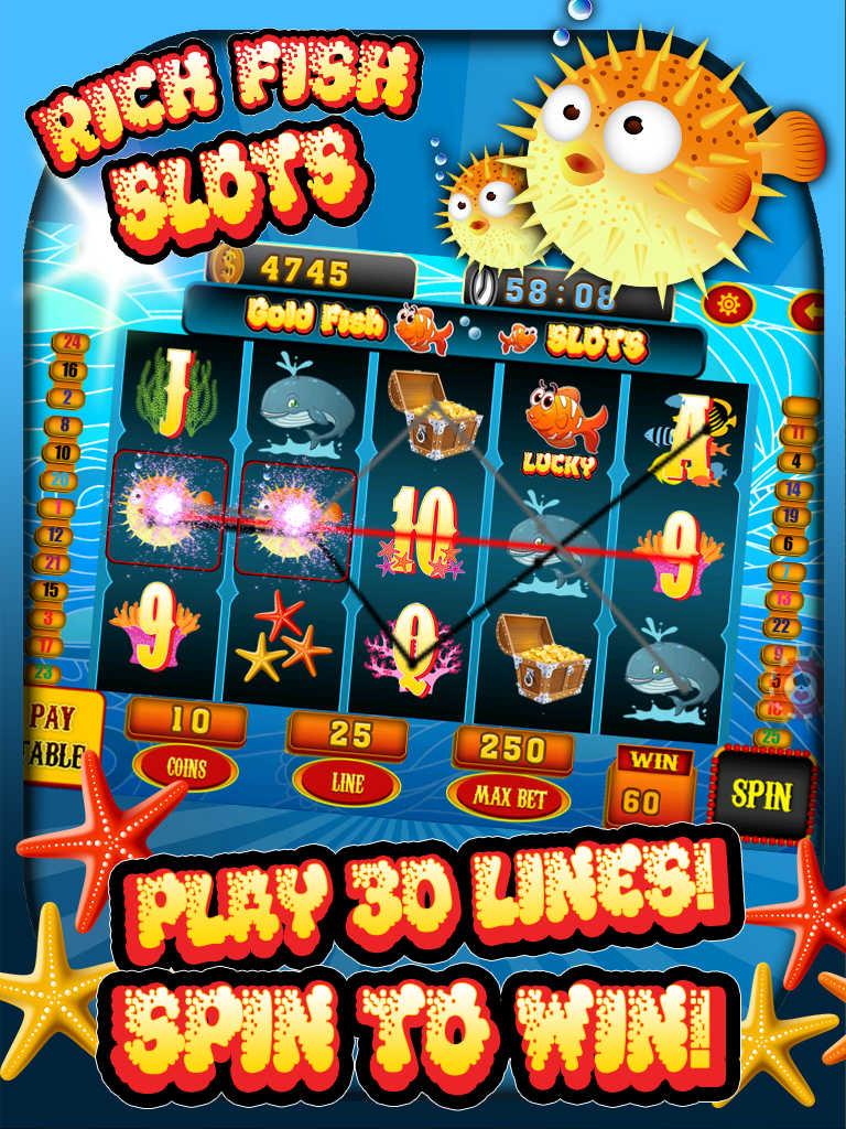free fishing slot machine games