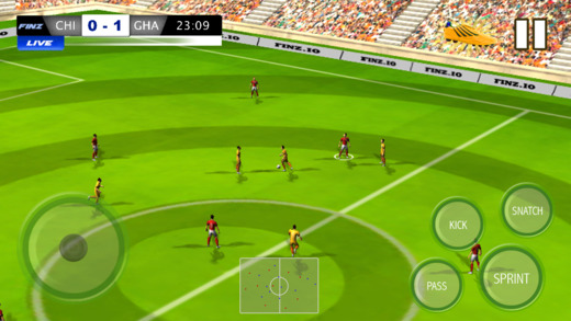 Play Football Journey to World - A fantasy football league challenge the world top football teams an