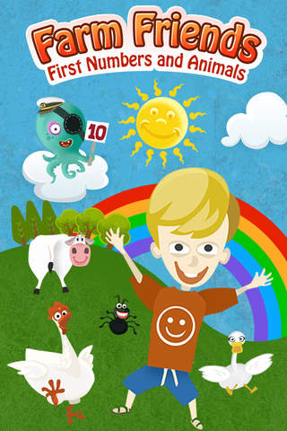 iphone Farm Friends: First Numbers and Animals Screenshot 0