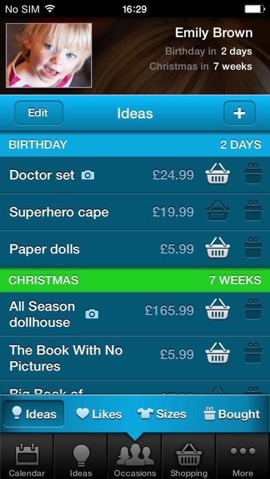 Gift Plan iPhone Screenshot 3