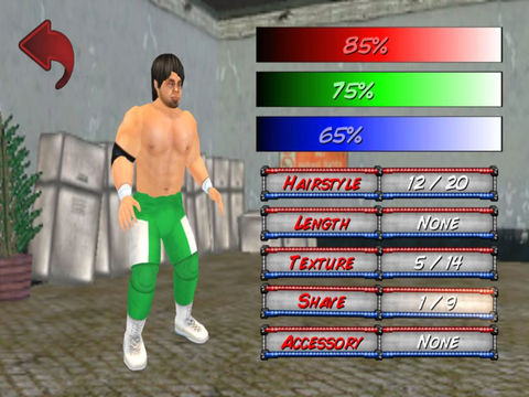 Wrestling Revolution 3D (Pro) Screenshots