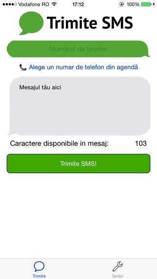 TrimiteSMS - Trimite mesaje gratuite către orice număr din România