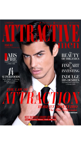 ATTRACTIVE MEN - Tailored magazine for the successful and stylish man who wants to live life beyond
