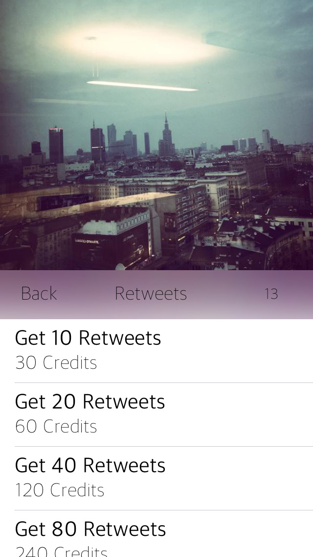 how to get twitter url on app