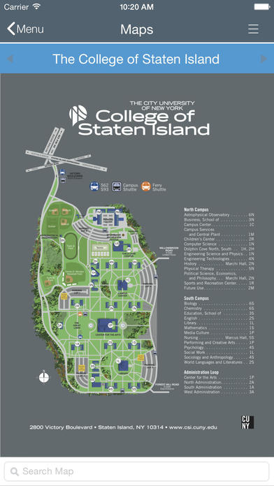 College Of Staten Island On The App Store