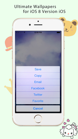 Ultimate Wallpapers for iOS 8 Version