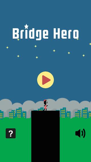 AAA Bridge Hero - Hold Stick to Reach Tower