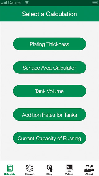 Asterion Tools - Calculate and Convert Volume Plating Surface Area and More