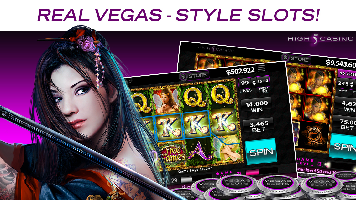 high 5 casino real slots hd bonus