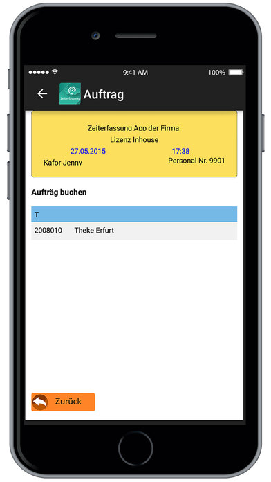 download Krutec Zeiterfassung apps 1