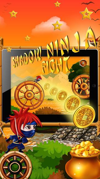 A Shadow Ninja Fight