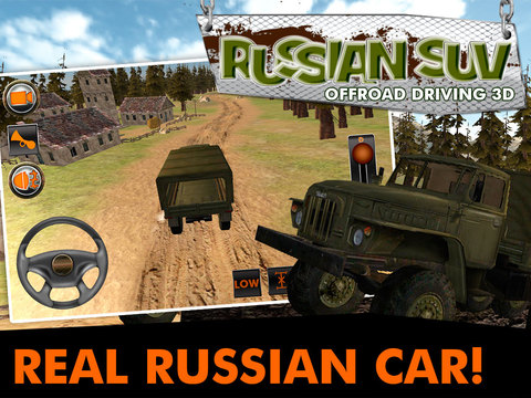 Russian SUV Offroad Driving 3D screenshot 5