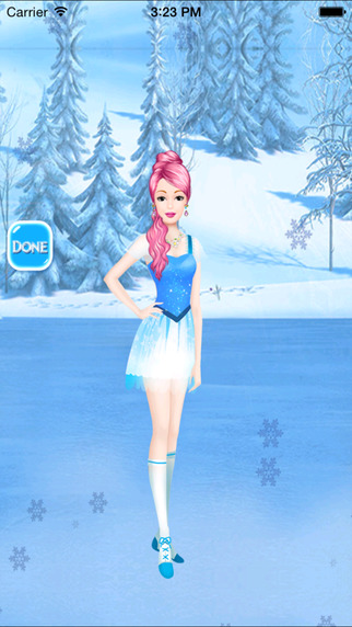 Winter Girl Dressup - Girls Game