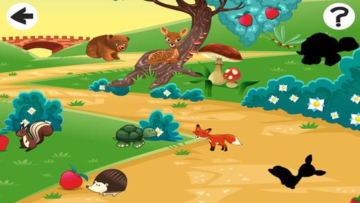 习和森林动物打