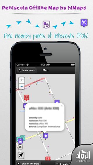 Peniscola Offline Map by hiMaps