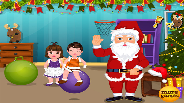 Santa Claus Kindergarten - Christmas Games