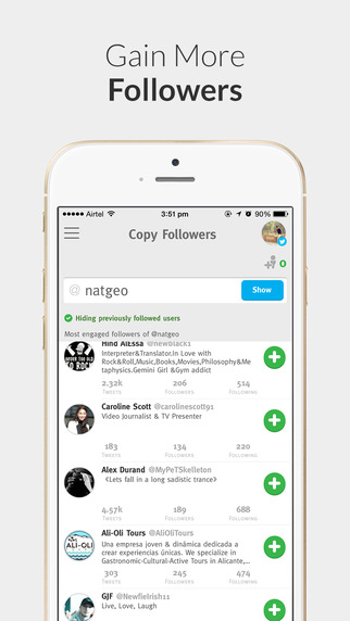 Crowdfire - for Twitter Instagram Growth