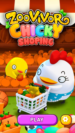 ZooVivor Chicky Shopping