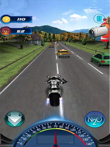 Traffic Death Moto 2015 screenshot 10