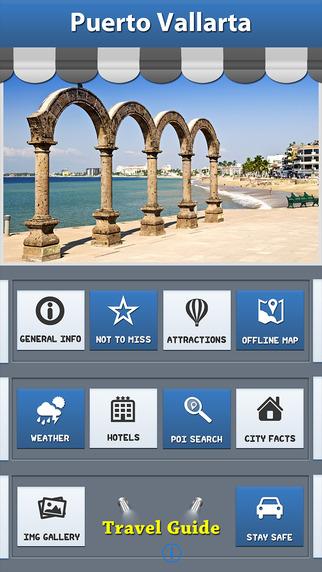 Puerto Vallarta Offline Map Travel Explorer