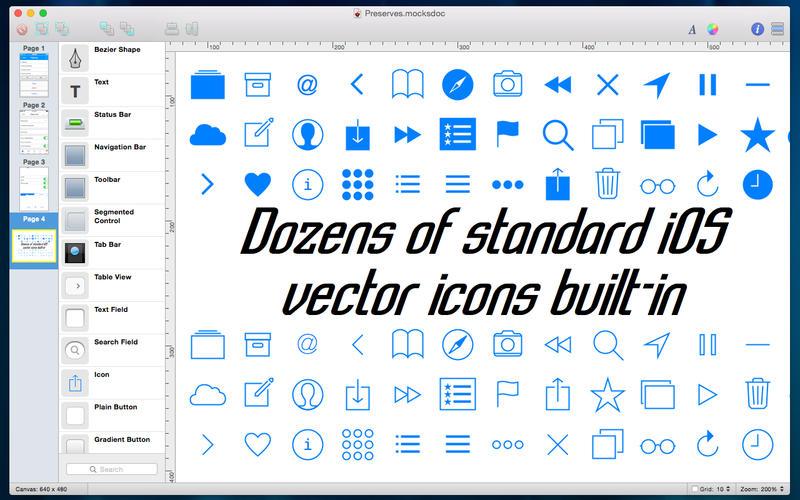 Mocks for Mac 2.7 破解版 – 优秀的移动UI原型设计工具-爱情守望者