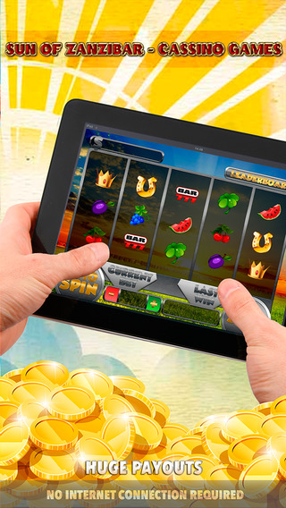 Sun of Zanzibar Cassino Games - FREE Slot Game Gold Jackpot