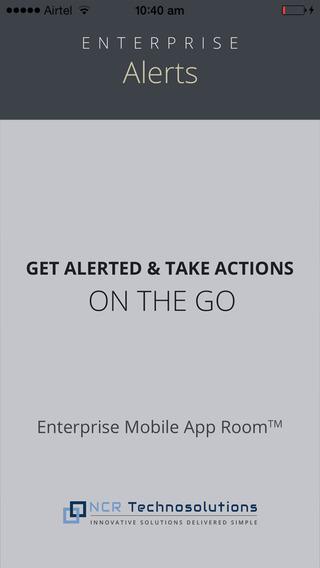 Enterprise Alerts