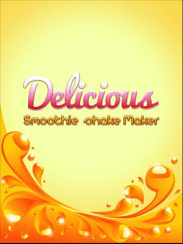 Delicious Smoothie Shake Maker Pro screenshot 6