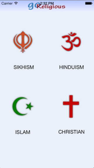 Go Religious