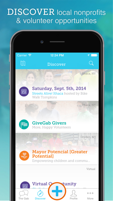 GiveGab — Social Volunteering screenshot