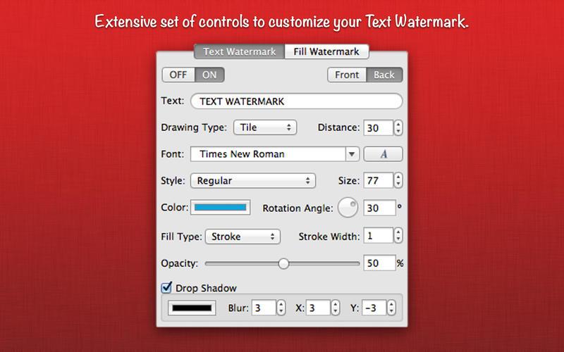 WatermarkPDF Screenshot - 2