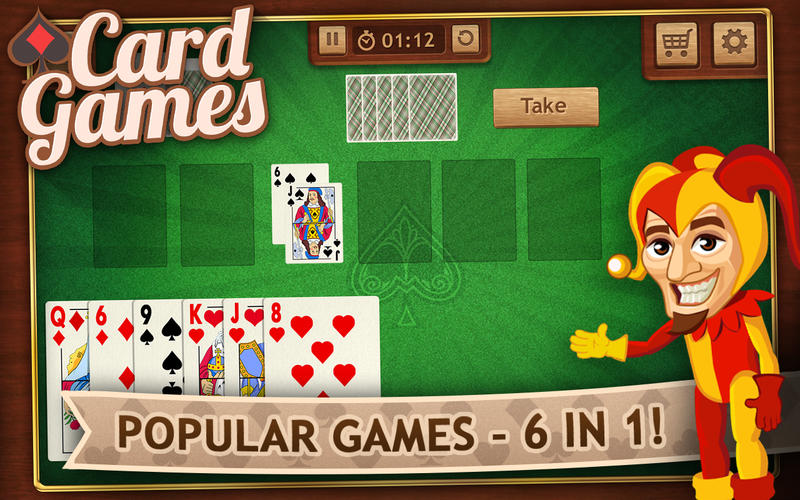 Card Games Screenshot - 2