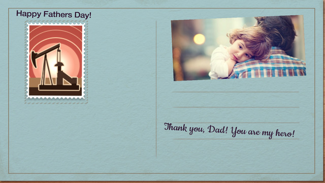 Fathers Day Card - Creative Card Present