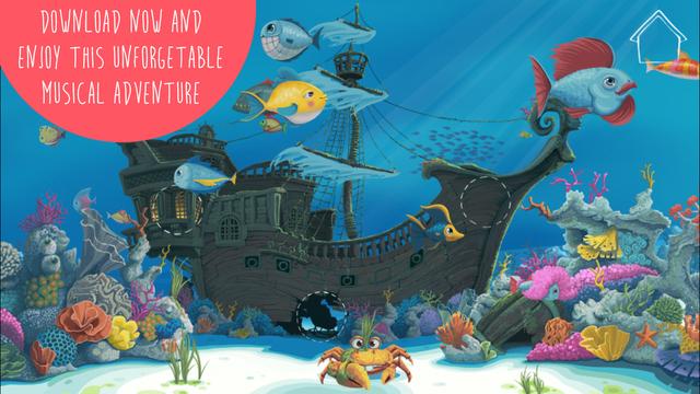 Deep Sea Lullabies Lite - Interactive musical bedtime app for kids