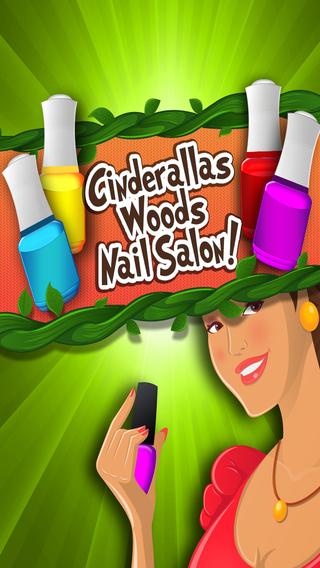 Cinderella's Woods Nail Salon - Beauty Make-Over Design Fashion Manicure Dress-Up Free Maker Games f