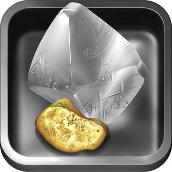 Prospectors - Nature's Slot Machine of Diamonds & Gold Treasure Free for iPad and iPhone LOGO-APP點子