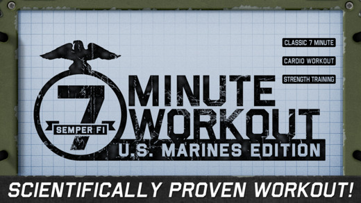 7 Minute Workout - Marines Survival Edition