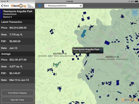WhereTo.sg iPad Screenshot 5