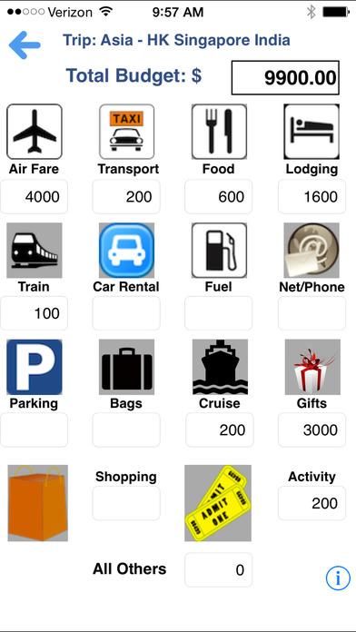 TripBook iPhone Screenshot 4