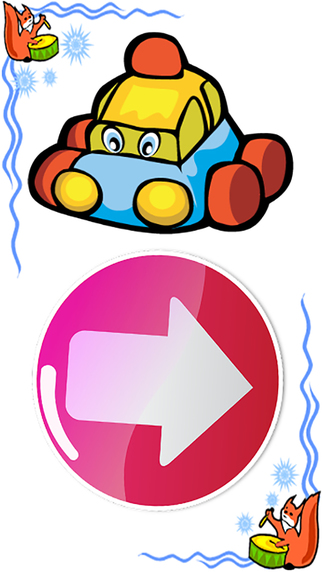 Easy car games and public transportation daily english words