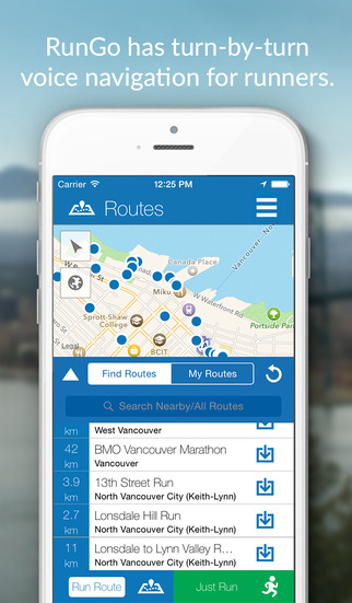 RunGo - Turn by Turn Voice Navigation for Runners