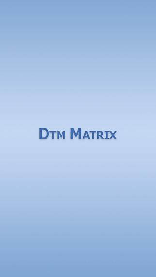 DTM用語暗記