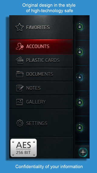 Timeport - Save your secrets: Accounts Credit Cards Documetns Notes Private Photo Video. Password ma