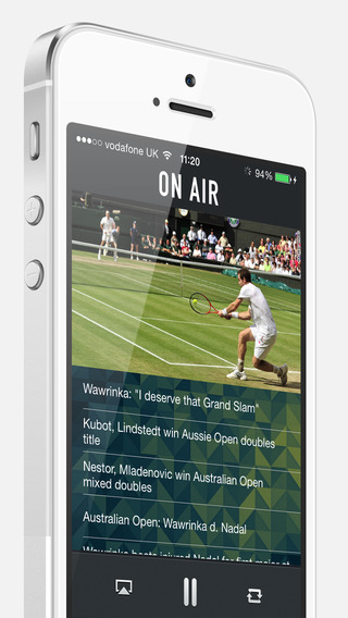 Tennis Live Commentary Radio