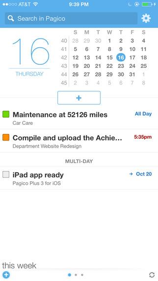 Pagico Plus 3 - 任务、项目管理应用[iOS][¥30→0]丨反斗限免