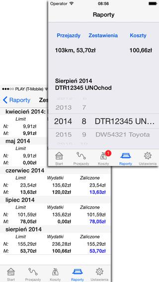 Ewidencja Przebiegu Pojazdu Lite iPhone Screenshot 4