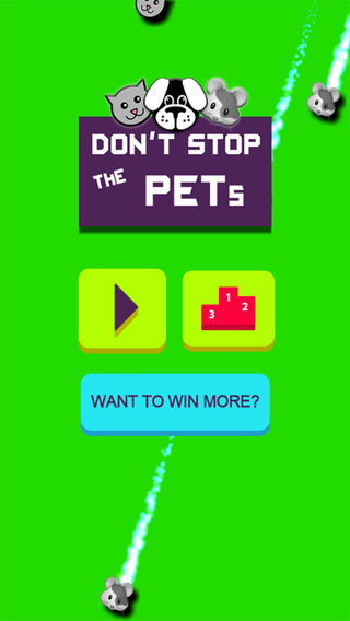 Don't Stop the Pets