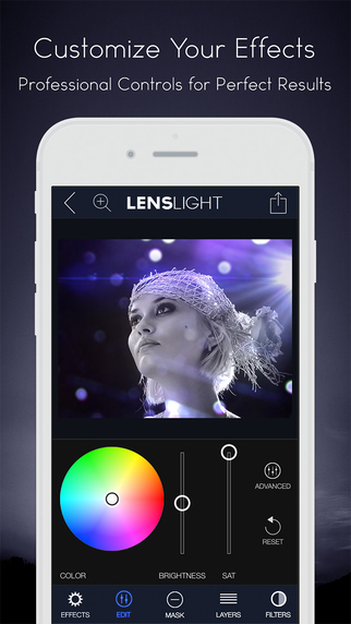 LensLight Visual Effects - 为照片加上特效光线[iOS]丨反斗限免