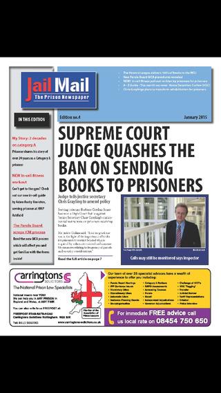 Jail Mail UK – Prison Newspaper